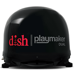 DISH Playmaker Dual - Outdoor TV - Linton, Indiana - Midwest Satellite Systems - DISH Authorized Retailer
