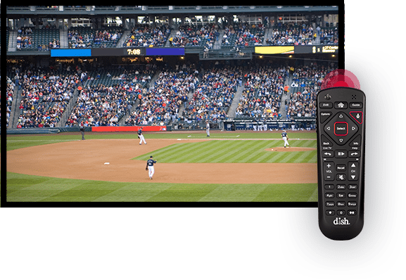 Watch Sports with the DISH Voice Remote - Linton, Indiana - Midwest Satellite Systems - DISH Authorized Retailer
